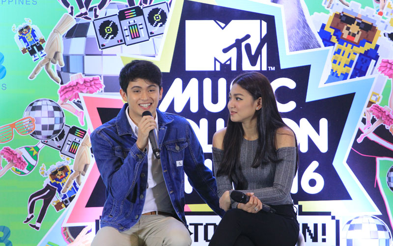 James Reid and Nadine Lustre see their fans as the greatest asset of their love team. Philstar.com/Efigenio Toledo IV