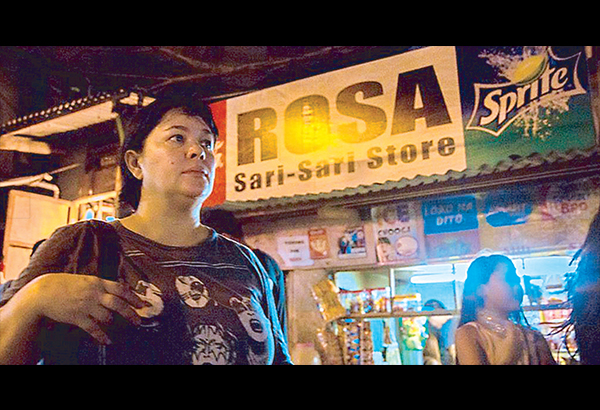 Jaclyn Jose in a scene from Brillante Mendoza film Ma'Rosa