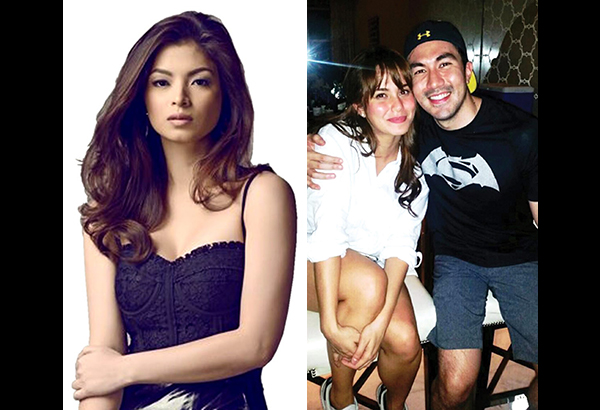 Luis Manzano and Jessy Mendiola are becoming 'closer and closer to each other,' much to the discomfort of Luis' ex-girlfriend Angel Locsin (left)