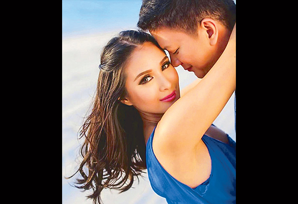 Heart Evangelista with husband Sen. Chiz Escudero