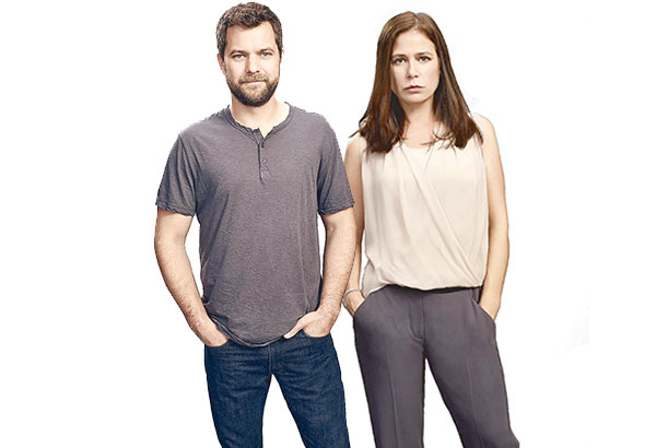 Present at the recent international press conference at the Beverly Hilton were Joshua Jackson and Maura Tierney, two of the stars of The Affair