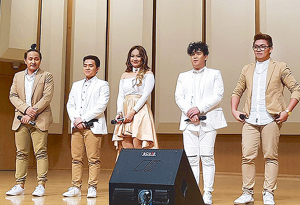 The vocal group is made up of Michelle Corpuz Pascual, Almond Pondevida Bolante, Joshua Fernandez Cadelina, Ronnel Allen Roman Laderas and brother Ricky Gavin Roman Laderas