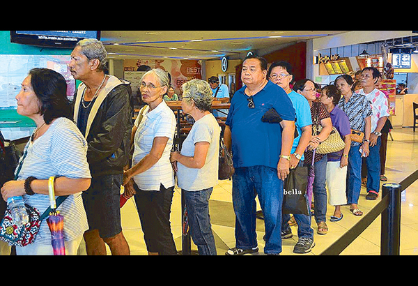 Senior citizens and PWDs deserve the free movie admission perk