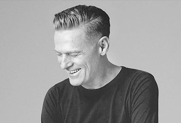 No meat in the diet of Bryan Adams who is set for his first-ever concert in Manila at the Big Dome on Jan. 18, 2017: I love animals and they are my friends...