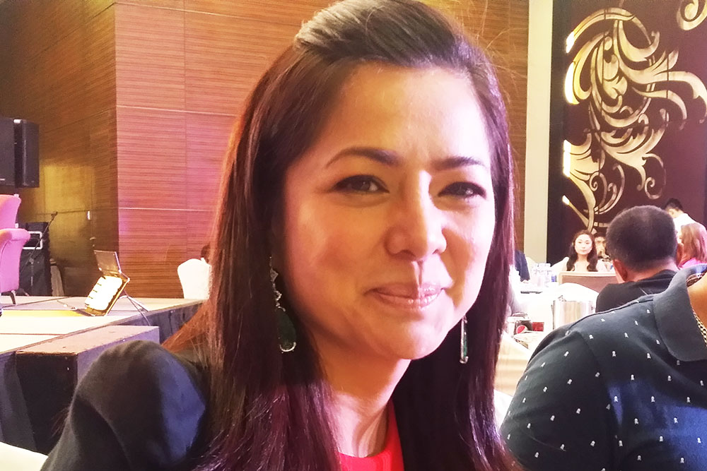 Actress Alice Dixson admits she's trying to conceive the natural way. Philstar.com/Maridol Ranoa-Bismark
