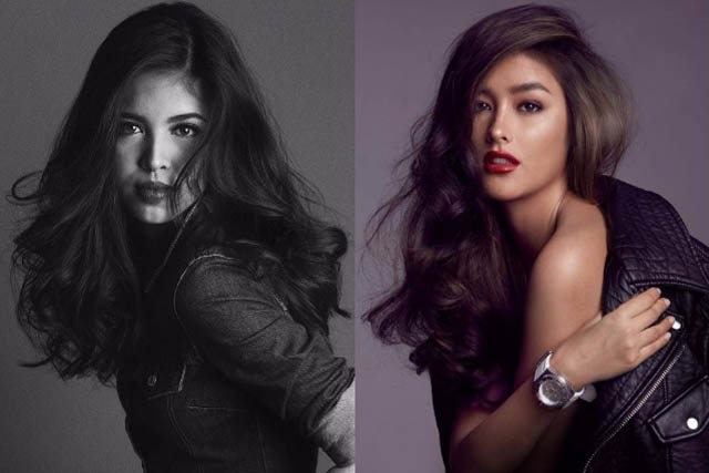 As American panelists picked between Filipina actresses Maine and Liza, both were praised for their beauty. Photo from Mark Nicdao via Instagram/mainedcm and Instagram/lizasoberano