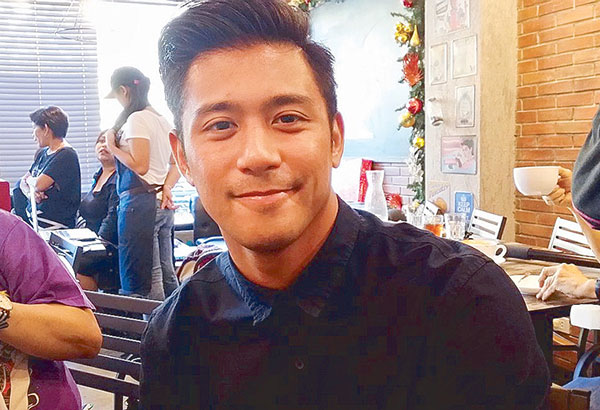 Rocco Nacino plans to merge his academic background with his current work. That's why he enrolled in a Master of Arts course in Nursing, with Aesthetics as field of specialization.