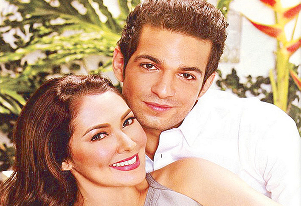 Ruffa Gutierrez with French-Israeli boyfriend Jordan Mouyal.