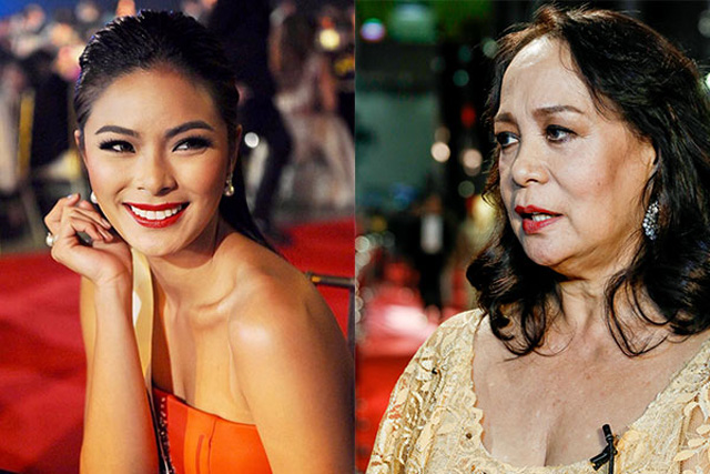 Former Miss Universe Gloria Diaz on Monday evening weighed in on Maxine Medina's chance to give Philippines back-to-back Miss Universe victories. Instagram.com/Maxine Medina and Philstar.com/Efigenio Toledo IV