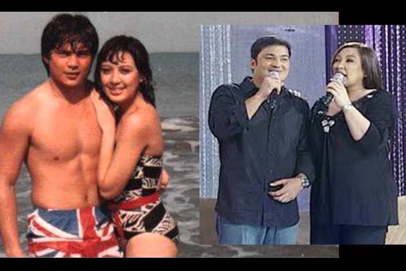 Sharon Cuneta and Gabby Concepcion then (photo from You Tube/Alma Atienza) and now (screen grab from ABS-CBN). Their reunion movie is set this summer.