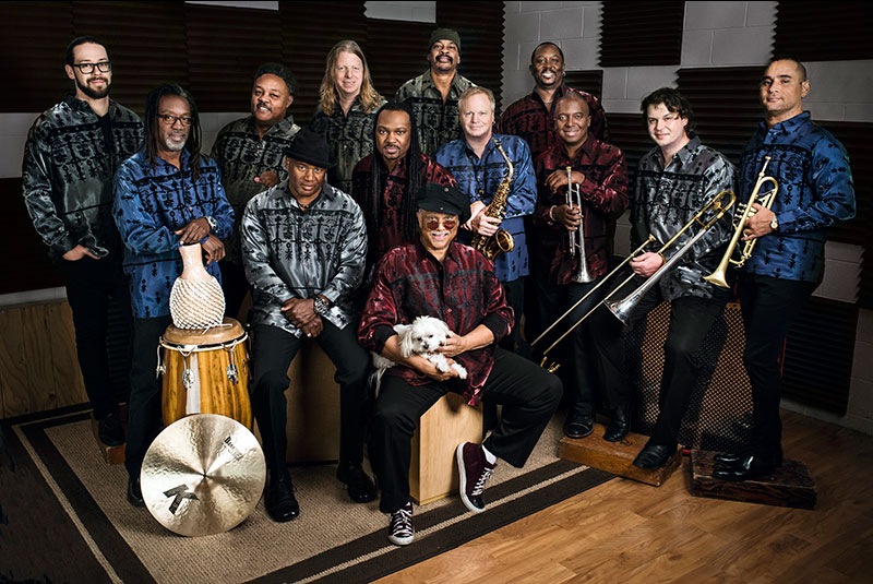 Al Mckay's Earth, Wind & Fire performs on March 27, 8 p.m., at the Newport Performing Arts Theater