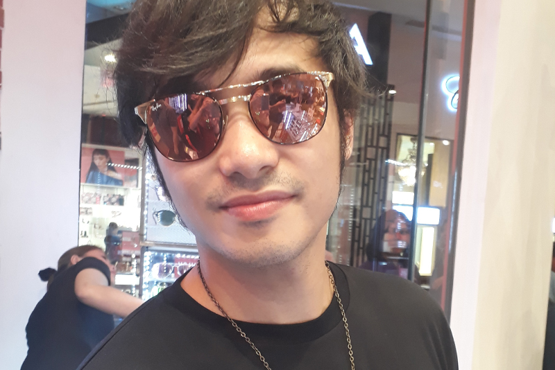 Kean Cipriano plans to finish college