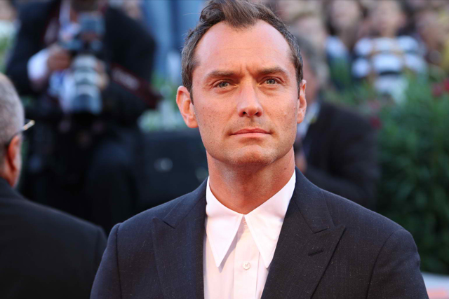 """Actor Jude Law is the new Albus Dumbledore in the next """"Fantastic Beast"""" films. Released"""
