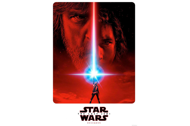 """Disney andLucasfilmhave released the first """"Star Wars: The Last Jedi"""" trailer for writer/directorRianJohnson's follow-up to """"Star Wars: The Force Awakens."""" Lucasf film/Released"""
