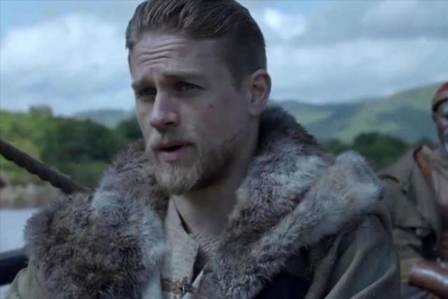 """King Arthur: Legend of the Sword"" stars Charlie Hunnam, Astrid Bergès-Frisbey, Oscar nominee Djimon Hounsou, Aidan Gillen, Oscar nominee Jude Law, and Eric Bana. Warner Bros. / Released"
