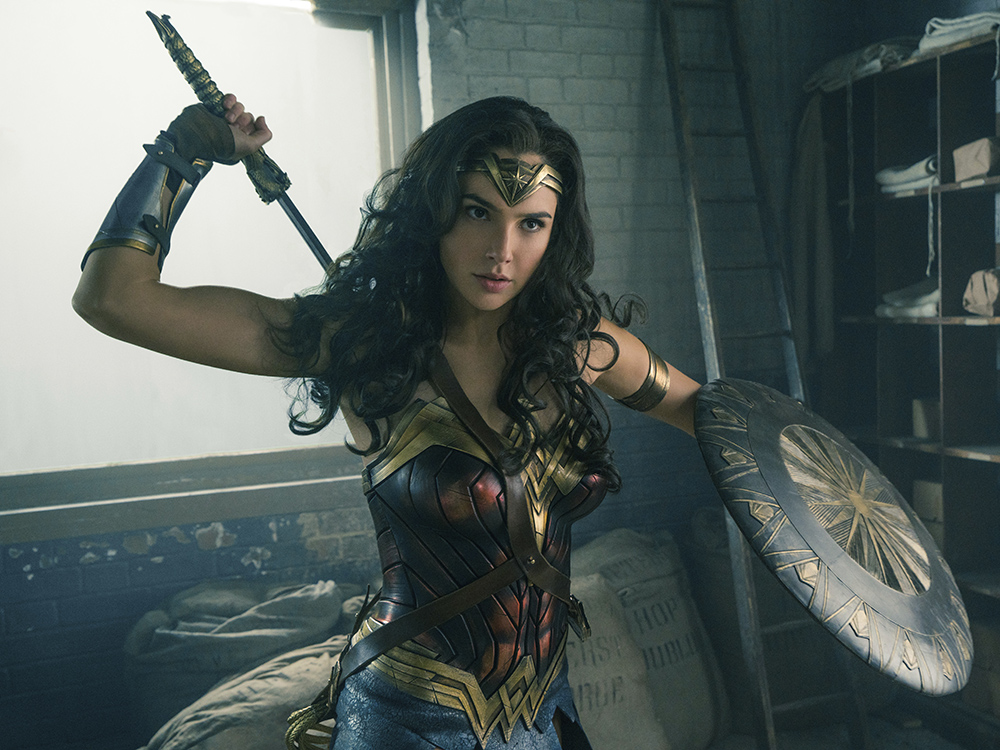 "This image released by Warner Bros. Entertainment shows Gal Gadot in a scene from ""Wonder Woman."" Clay Enos/Warner Bros. Entertainment via AP"