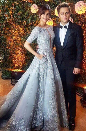 ... Wedding · Last Year Liza Soberano Won Best Dressed At The Star Magic  Ball In A Powder Blue ...