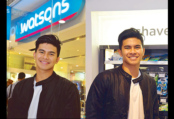 Kiefer Ravena graces Watsons' 'Bro Bootcamp' at its Podium outlet, an event that showed a crash course on good grooming for men. Kiefer represented Gillete which he is endorsing.