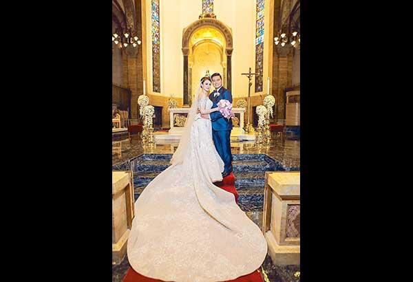 Mr. and Mrs. Alfred Vargas (nee Yasmine Espiritu. — Photos courtesy of SALVE ASIS