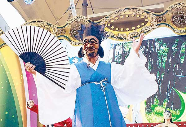 This year, the Andong International Mask Dance Festival & Competition will run from Sept. 29 to Oct. 8 —Photo from Andong Festival Tourism Foundation