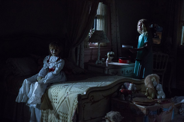 "The year's most eagerly anticipated horror thriller, New Line Cinema's ""Annabelle: Creation,"" will hold whole-day sneak previews in most cinemas nationwide on Monday and Tuesday, August 14 and 15."