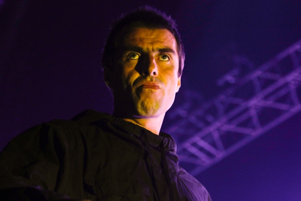 Former Oasis front man Liam Gallagher during his Manila concert on August 14. Philstar.com/Efigenio Christopher Toledo IV