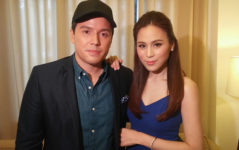 Husband and wife director Paul Soriano and actress Toni Gonzaga. Philstar.com/Jan Milo Severo