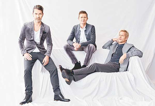 Michael Learns To Rock — made up of Jascha Richter, Mikkel Lentz and Kare Wanscher — will return to Manila on Aug. 31 at 8 p.m. for a show at the Kia Theater of Araneta Center