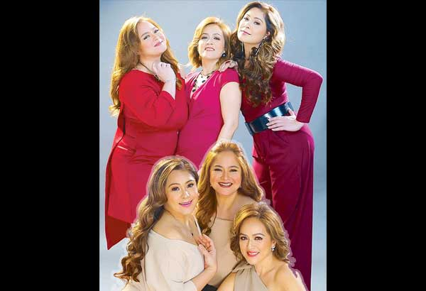 The '80s singing trio of Sheryl Cruz, Manilyn Reynes and Tina Paner (above) will treat their fans to a trip down memory lane via The Triplet Concert on Sept. 9, 8 p.m. at the Music Museum