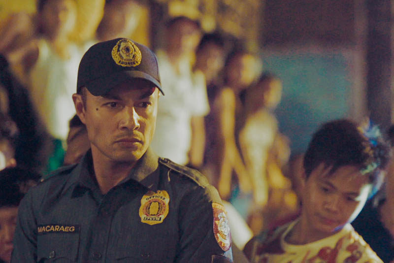 "Derek Ramsay stars as a cop in Brillante Mendoza's ""Amo,"" which was screened at the 20th Cine Europa in Manila."