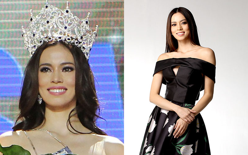 Former Ateneo courtside reporter Laura Victoria Lehmann was crowned Miss World Philippines on Sunday night, September 3, at the Mall of Asia Arena. Facebook, Twitter/Miss World Philippines