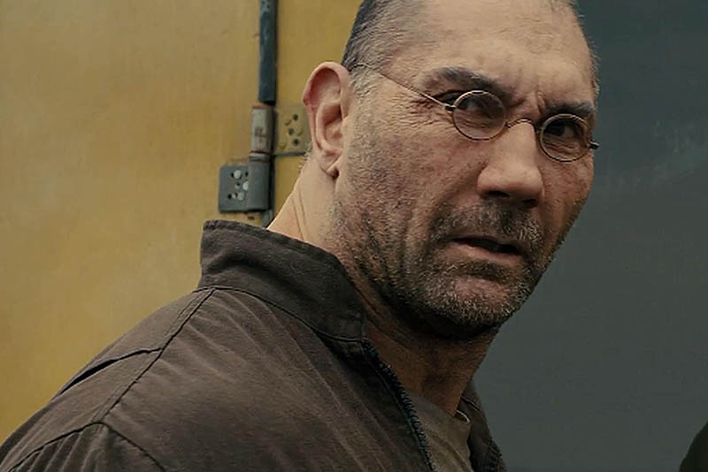 "Filipino-American actor Dave Bautista (""Guardians of the Galaxy"" series, ""Spectre"") stars opposite Ryan Gosling and Harrison Ford as a protein farmer named Sapper Morton in Columbia Pictures' futuristic action-thriller ""Blade Runner 2049."""