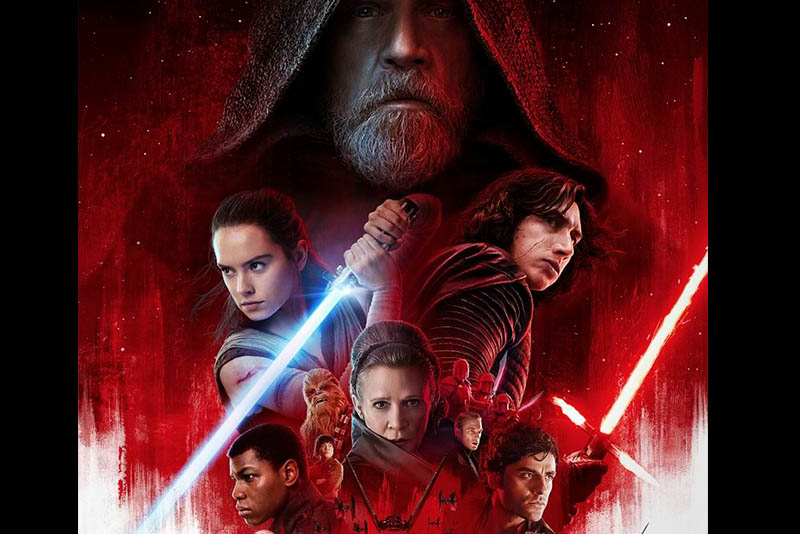 "Photo from the official poster of ""Star Wars: The Last Jedi""  Walt Disney Company/Released"