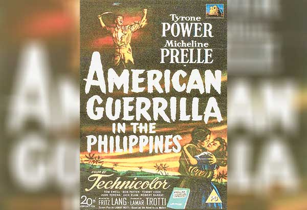 Ad of American Guerilla in the Philippines (1950)