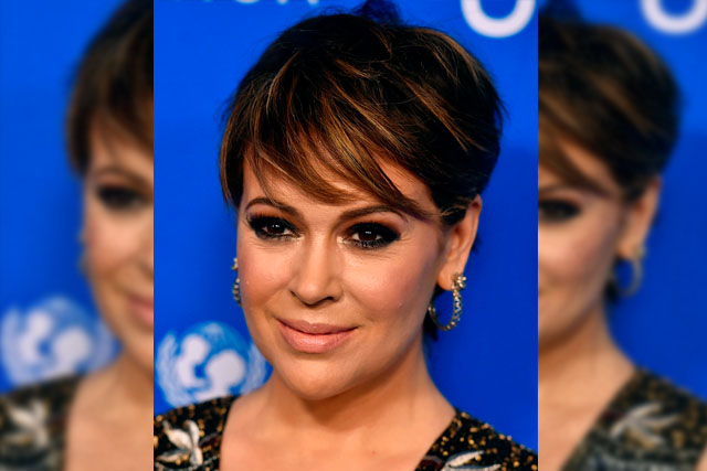"In this Jan. 12, 2016 file photo, Alyssa Milano arrives at the Sixth Biennial UNICEF Ball in Beverly Hills, Calif. Milano said she was in bed with her two young children Sunday when an idea struck her as a great way to elevate the Harvey Weinstein conversation. She posted to Twitter: ""If you've been sexually harassed or assaulted write 'me too' as a reply to this tweet."" By Monday night, 48,000 people had done just that below her tweet, prompting thousands of women to share their stories of rape, sexual assault and harassment across social media. Photo by Jordan Strauss/Invision/AP, File"