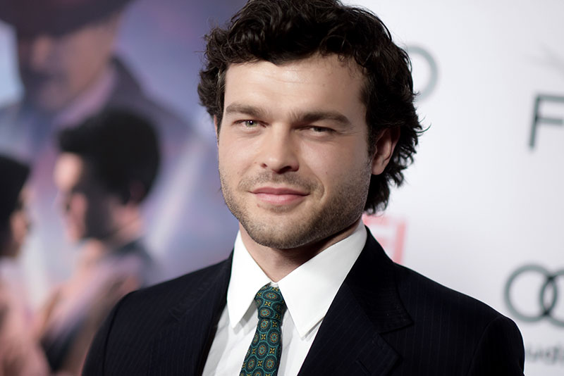 "In this Nov. 10, 2016 file photo, Alden Ehrenreich arrives at the world premiere of ""Rules Don't Apply"" in Los Angeles. The young Han Solo Star Wars spinoff, starring Ehrenreich in the role originated by Harrison Ford, finally has a title: ""Solo: A Star Wars Story."" It is set for a May 25, 2018 release. Photo by Richard Shotwell/Invision/AP, File"