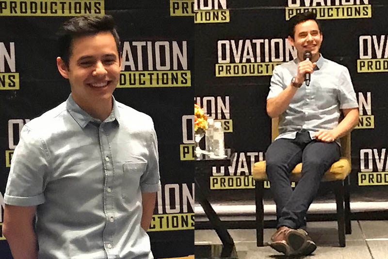 """American Idol"" runner-up David Archuleta returned to Manila for a one-night concert on October 20 at the Kia Theater in Quezon City. Philstar.com/Seph Asong"