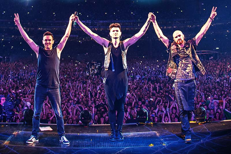 The Script is one of the world's most successful bands and have sold over 29 million records.