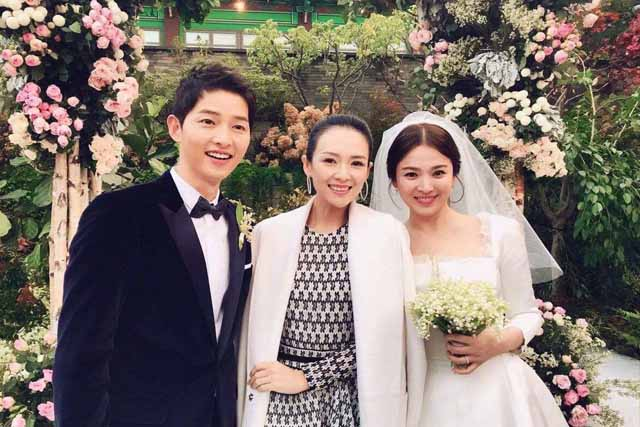 Descendants Of The Sun Stars Tie The Knot In Real Life