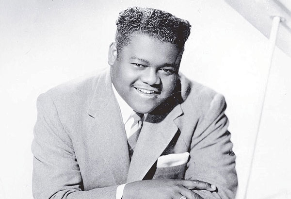 The US singer/pianist Fats Domino was an innovative artist whose music helped create the foundation for rock 'n roll in the '50s. Reports say, he was able to sold 65 million records throughout his career.