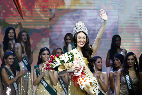 Earth warrior Karen Ibasco became the fourth Filipina to be crowned as Miss Earth since the pageant began in 2001. She followed the footsteps of Karla Henry (2008), Jamie Herrell (2014) and Angelia Ong (2015). philstar.com/EFIGENIO TOLEDO IV