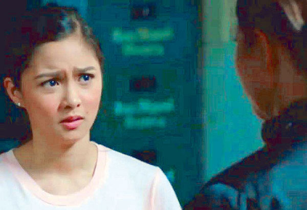 Kim Chiu in a scene from the movie: A convincing performance.