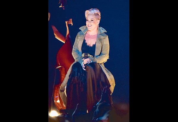 Out in the market, Pink's latest album is already showing a bountiful harvest. AFP Photo