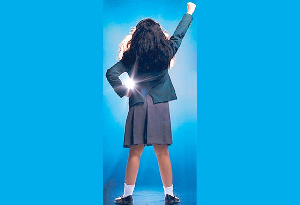Matilda, the Musical is about an intelligent little girl who is often bullied by her television and ballroom dancing addicted parents