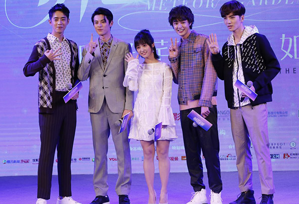 In a press conference held  last November 9 in Shanghai, China, the new F4 members were formally introduced, namely Dylan Wang, 19, as the Dao Ming Si; Darren Chen, 22, as Hua Ze Lei; Connor Leong, 23, as Mei Zuo and Caesar Wu, 21, as Xi Men. Rookie Chinese actress Shen Yue, meanwhile, bagged the coveted role of Shan Cai. ABS-CBN/Released