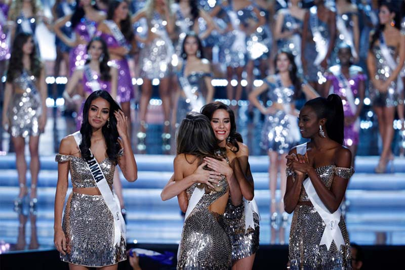 Image result for miss universe 2017 top 16 pictures