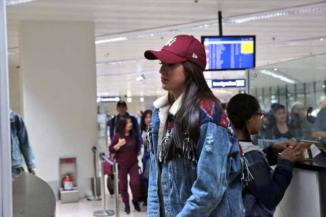 Miss Universe bet Rachel Peters returns to PH
