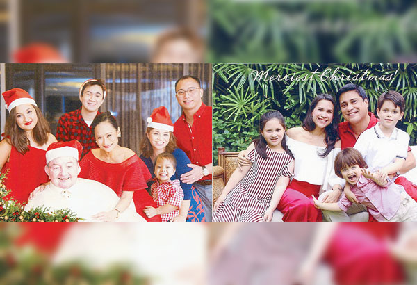family christmas cards philstarcom - Family Photo Christmas Cards