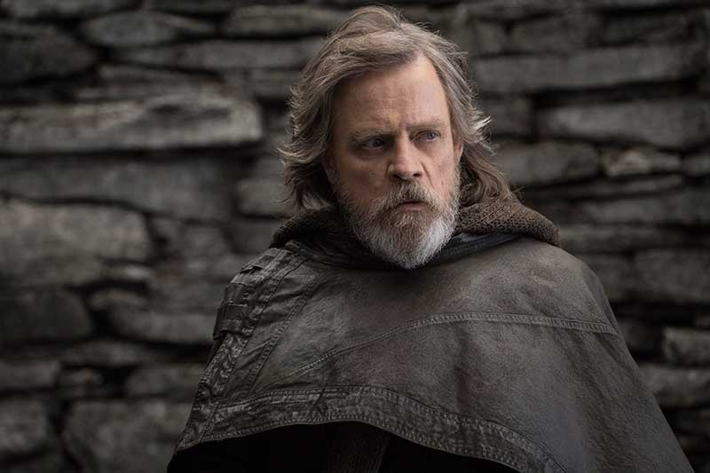 "FILE - This file image released by Lucasfilm shows Mark Hamill as Luke Skywalker in ""Star Wars: The Last Jedi."" On the last day of the calendar year, ""Star Wars: The Last Jedi"" has surpassed ""Beauty and the Beast"" as the top grossing film in North America in 2017. John Wilson/Lucasfilm via AP, File"