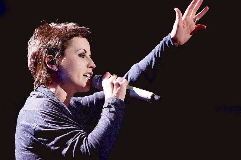 It was Dolores' singing that gave the Cranberries its distinctive sound